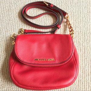 Michael Kors leather mini cross body bag